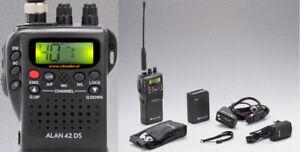 Midland alan 42 DS Hand-held CB Radio Multi Standard FM 40 UK 40 EU