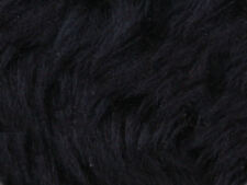 Navy Plain Faux Fur Fabric Short Hair 150cm Wide SOLD BY THE METRE