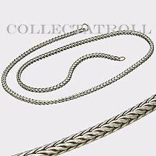 "Authentic Trollbeads Necklace No Lock 16.7"" Trollbead   TAGNE-00005"