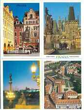 Prague Prag Praha Czech Republic Czechoslovakia (6) Souvenir City Set Postcards