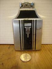 Ronson Art Deco Lighter cigarette case Art Metal Works Chromium Plate USA RB-4c