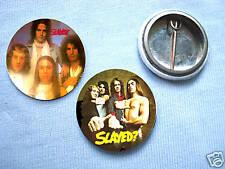 Slade-Set Of 2 Badges Marc Bolan Glam Rock