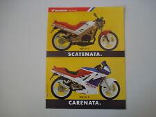 advertising Pubblicità 1988 MOTO HONDA NSR 125 F / NSR 125 R
