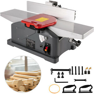 6 Inch Jointers Woodworking Benchtop Jointer Jointer Planer for Wood Cutting