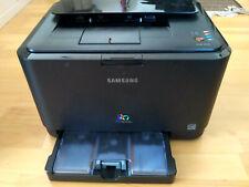 ✅Samsung CLP-315 Drucker nur 2900 Seiten Laserdrucker Farblaser mit Toner USB 1€