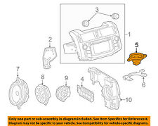 TOYOTA OEM 10-16 4Runner Stereo Audio Radio-Dash Speaker 8616047070