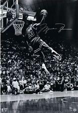 JORDAN Bulls Autographed 8x10 Photo (RP)