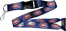 MONTREAL CANADIENS - LANYARD - BRAND NEW NHL HOCKEY - NHL-LN-095-05