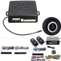 PKE Car Alarm System Keyless Entry Push Button Remote Control Engine Start/Stop