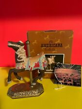 The Americana Collection Willitts Carousel Horse W/Box Soo Cute Estate Find