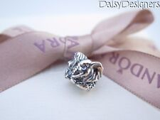 NEW Authentic Pandora Silver SAFARI Lion Zebra Elephant Charm 791360 RETIRED