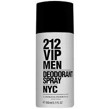 212 VIP Deodorant Spray Carolina Herrera For Men 150 ml New packaging Original