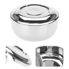 Shaving Soap Dish Universal Men Stainless Steel Beard Shaving Soap Dish Shaving!