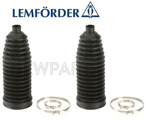 For Porsche Cayenne Pair Set of 2 Front L & R Steering Rack Boots OEM