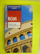 Rom 2015 Baedeker SMART UNGELESEN Italien Vatikan Papst Reiseführer & Karte