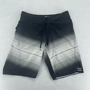 Billabong Platinum X Fluid Athletic Drawstring Swim Trunks Men's Size 32