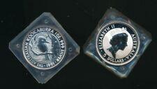 Australia: 1991 $5 1oz silver Kookaburra Specimen UNC. Scarce.
