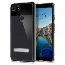 Pixel 3 Case, Spigen Ultra Hybrid S Protective Clear Slim Cover - Crystal Clear