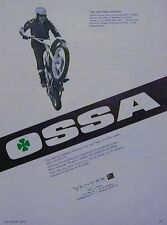 1970 OSSA STILETTO 250 Original Motorcycle Ad