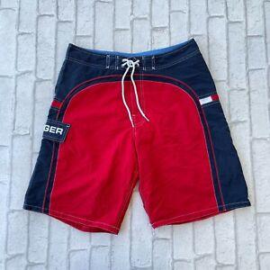 Tommy Hilfiger Men's Swim Shorts - Small S - Swimming Trunks - Sailing