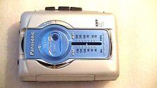 VINTAGE PANASONIC WALKMAN PERSONAL CASSETTE PLAYER RQ-V77 with radio