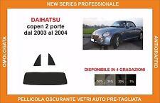 pellicola oscurante vetri dahiatsu copen 2 p dal 2003 al 2004 kit posteriore