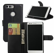 PU Leather Flip Wallet BOOK Case Cover Pouch For Huawei P8 Lite 2017 Phone