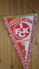 Wimpel 1. FCK Kaiserslautern Deutscher Meister 1951 1953, 40 x 26 cm, Kette