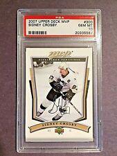 07/08 Upper Deck MVP #300 Sidney Crosby  PSA GEM MT 10  #20335587  PENGUINS