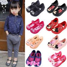 Kids Girls Princess Jelly Shoes Toddler Child Summer Beach Casual Flats Sandals
