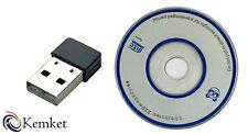 Wifi Adapter Wireless USB 802.11 b/g/n Standard Maximum Speed 2.4GHz 150Mbps