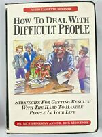 How To Deal With Difficult People 4 Cassette Tapes