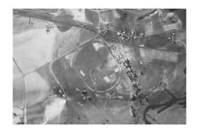 NSW RICHMOND Racecourse extreme aerial 1942 modern Digital Photo Postcard