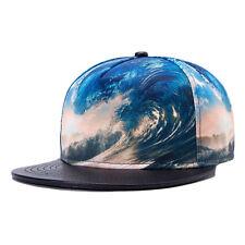 Outdoor Hip-Hop Kappe 3D Himmel Muster Baseball Hut Unisex Mütze Einstellbar Cap