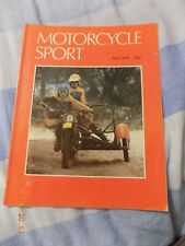 motorcycle sport/may 1979/yamaha xs750 test/z200/rickman/brough superior ss80