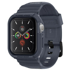 Apple Watch Series 5/4 (44mm) Case | Spigen® [Rugged Armor Pro] Charcoal Gray