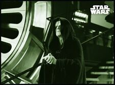 Topps Star Wars Card Trader Return of the Jedi B&W W2 Green Emperor's Delight
