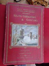 Livre 'Récits charentais et gascons'