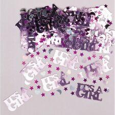 """AMSCAN 36033 - Geburtstag & Party - Konfetti """"It's a girl"""", 14 g"""