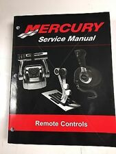 Mercury Service Repair Shop Manual Commander Dts Remote Controls 90-814705R03