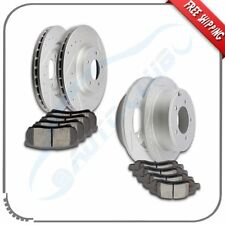 Front + Rear best Slotted Rotors Ceramic Pads For 200 Sebring Avenger Compass