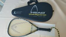 "Head i.165 intelligence Racquetball Racquet 3 5/8"" Used Twice W Carrying Case"