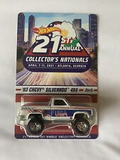 83 Chevy Silverado 4x4 2021 Hot Wheels 21st National Convention #2 Series Car