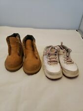 Timberland Boots  & Air Jordan sneakers Toddler Baby Size 5c Hiking Boots Brown