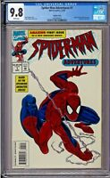 Spider-Man Adventures #1 CGC 9.8 White Pages Embossed foil Cover