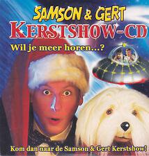 Samson&Gert-Kerstshow Cd cd single