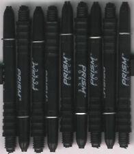2in. 2ba Black WINMAU Prism Force Dart Shafts & Rings: 1 set of 3
