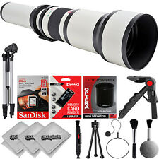 Opteka 650-2600mm Super Zoom Lens for Nikon D5600 D5500 D5300 D5200 D5100 D5000