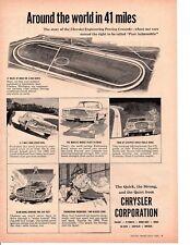 1960 CHRYSLER CORPORATION ~ ORIGINAL PRINT AD