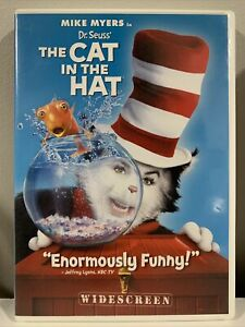 Dr. Seuss' The Cat In The Hat (Widescreen Edition) - DVD - VERY GOOD